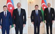 Prezident yeni səfirlərin etimadnaməsini qəbul etdi (FOTOLAR)