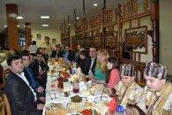 Lvovda keçirilən Yeni İl şənliyində Azərbaycan barədə film nümayiş etdirilib