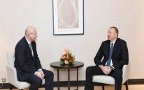 """İlham Əliyev """"Procter and Gamble Europe"""" şirkətinin prezidenti ilə görüşdü"""