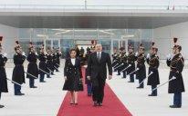 Prezidentin Fransaya rəsmi səfəri başa çatdı