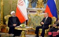 Putin və Ruhani arasında görüş keçirilir