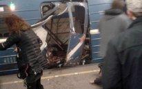 Sankt-peterburqda metroda partlayış - 10 nəfər öldü, 50 nəfər yaralandı