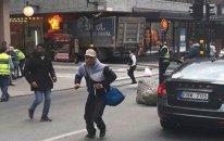Stokholmda TERAKT - Ölənlər var - FOTO