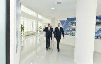 Prezident Yevlaxda Aran Regional İnkişaf Mərkəzi ilə tanış olub - FOTO (YENİLƏNİB)