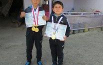 10 yaşlı azərbaycanlı ermənini udub çempion oldu
