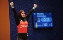 Bakı-2017: 5 rekord yeniləyən ağır atletimiz çempion oldu