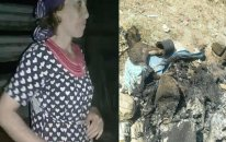 Bakıda görülməmiş VƏHŞİLİK - Qadın küçükləri diri-diri yandırdı - VİDEO