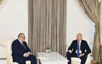 İlham Əliyev Gürcüstanın Baş nazirinin müavinini qəbul etdi