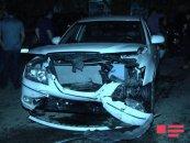 Bakıda sərxoş sürücü 7 qonşunun avtomobilini əzdi – FOTO