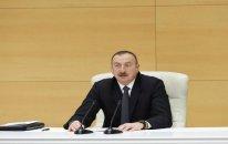 """İlham Əliyev: """"Cənub Qaz Dəhlizi""""ni 100 faiz tamamlamaq üçün 2-3 il lazımdır"""