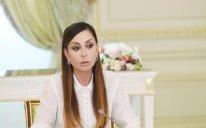Mehriban Əliyeva 2 yaşlı Zəhradan yazdı