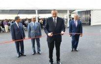 Prezident jurnalistlər üçün tikilən ikinci binanın açılışında - Yenilənib + Fotolar