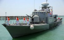 İranın və Qazaxıstanın hərbi gəmiləri Bakıda – FOTO