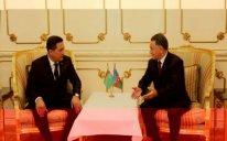 Ramil Usubov Türkmənistan daxili işlər naziri ilə görüşdü