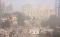 Nazirlik Bakıda toz-dumanı ilə bağlı operativ iş rejiminə keçdi