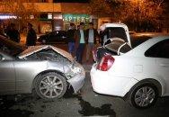 Bakıda qəza - 10 nəfər yaralandı, 1 körpə öldü + Foto