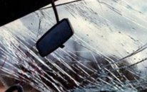 Sabirabadda iki avtomobil toqquşub: Ölən var