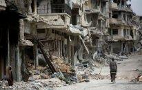 İŞİD Rakkanı tərk etməzdən əvvəl şəhərdə hər bir tikilini minalayıb