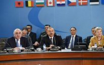 İlham Əliyev NATO-nun Şimali Atlantika Şurasının iclasında iştirak edib