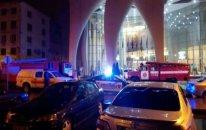 Batumidə hoteldə güclü yanğın: Ölənlər var - VİDEO