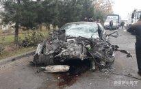Bərdədə AĞIR YOL QƏZASI – 11 nəfər yaralı - FOTO