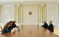 İlham Əliyev Dünya Bankının nümayəndə heyətini qəbul etdi