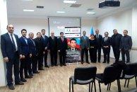 """Azərbaycan-Slavyan Gəncləri Assosiasiyası """"ŞƏHİDLİYİN RAHİM TAĞIYEV ZİRVƏSİ"""" filmini təqdim etdi - FOTOLAR"""