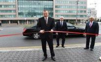 Prezident açılışda - YENİLƏNİB + FOTOLAR