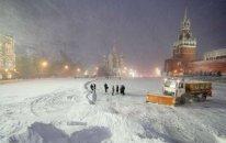Moskvada 25 dərəcə şaxta qeydə alınıb