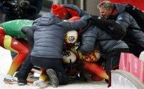 Almaniya yığması Olimpiadaya 3,5 min litr pivə gətirib
