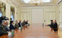 İlham Əliyev İran müdafiə nazirini qəbul etdi – Yenilənib