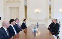 """İlham Əliyev """"Boeing"""" şirkətinin prezidentini qəbul etdi"""