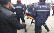 Bakıda restoranda FACİƏ: kişini tüstü bacasına atdılar - VİDEO