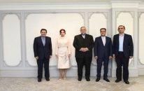Mehriban Əliyeva iranlı təşkilat sədri ilə görüşdü - FOTO