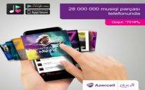 Azercell Plus Musiqi xidməti ilə hər gün milyonlarla mahnılar smartfonunuzda