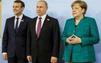 Makron və Merkel Putinlə atəşkəsi müzakirə edəcək