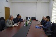 Qüdrət Həsənquliyev İraq Türkmeneli Partiyasının sədrini qəbul edib