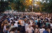 Ermənistanın tanınmış idmançıları etiraz aksiyalarına qoşulublar