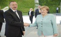 Angela Merkel Prezident İlham Əliyevi təbrik edib
