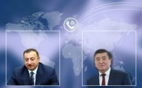 Azərbaycan və Qırğızıstan prezidentləri arasında telefon danışığı olub
