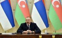 """İlham Əliyev: """"Serbiya bizim üçün dost ölkədir"""""""