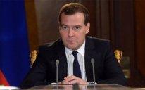 Dmitri Medvedev Prezident İlham Əliyevə məktub göndərib