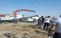 Bakıda sərnişin avtobusu aşdı – Ölən və yaralananlar var