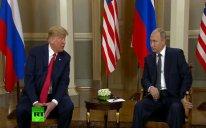 ABŞ və Rusiya prezidentləri arasında görüş başlayıb