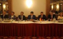 Fuad Muradov Almaniyada azərbaycanlı iş adamları ilə görüşüb – FOTO