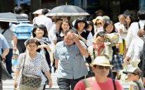 Yaponiyada isti havaya görə 14 nəfər ölüb
