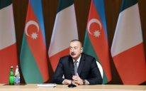 """Prezident: """"İtaliya Azərbaycan üçün birinci ticarət tərəfdaşıdır"""""""