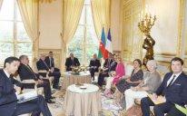 İlham Əliyev Fransa Milli Assambleyasının sədri ilə görüşüb – FOTLAR