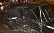 Bakıda taksi qırmızı işıqda keçdi, nəticədə... - Foto-Video