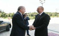 Türkiyə Prezidentinin rəsmi qarşılanma mərasimi olub – FOTO